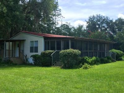 Waycross GA Single Family Home For Sale: $59,900