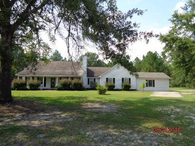 Jesup Single Family Home For Sale: 184 Cruz Rd