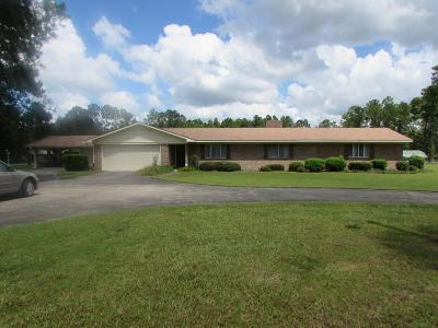 Waycross Single Family Home For Sale: 4395 White Hall Church Road