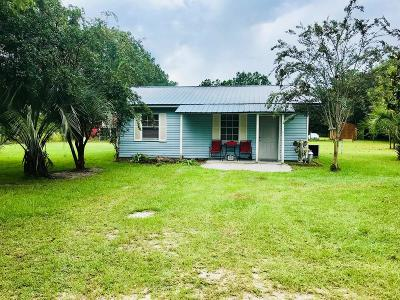 Waycross GA Single Family Home For Sale: $55,000