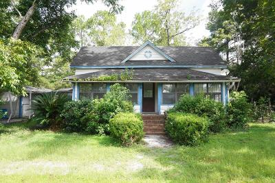 Waycross Single Family Home For Sale: 205 E. Ware Street