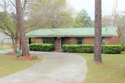 Waycross GA Single Family Home For Sale: $95,000