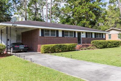 Waycross GA Single Family Home For Sale: $89,900