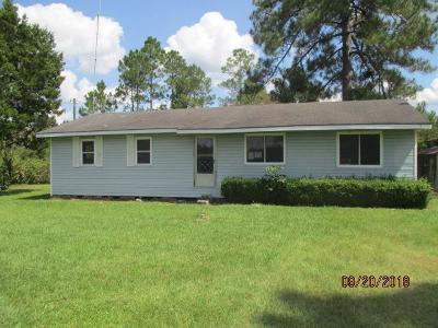 Blackshear Single Family Home For Sale: 5272 McGauley Road