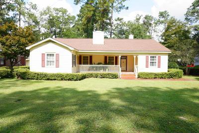 Waycross Single Family Home For Sale: 1005 Hill St