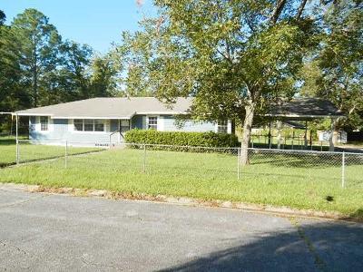 Waycross Single Family Home For Sale: 4115 Gloria Ave