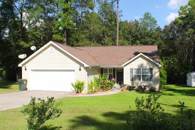 Blackshear GA Single Family Home For Sale: $134,900