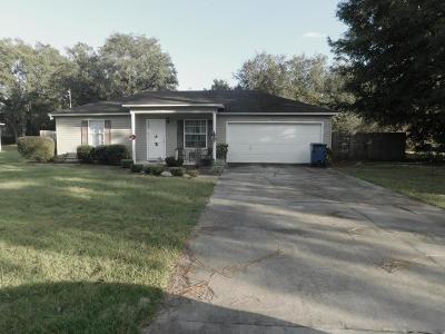 Blackshear Single Family Home For Sale: 6810 Oak Wood Road