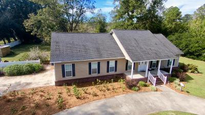 Waycross GA Single Family Home For Sale: $198,500