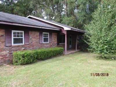 Waycross Single Family Home For Sale: 1801 Riverside Ave.