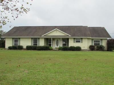 Blackshear Single Family Home For Sale: 3003 Sun Creek Lane