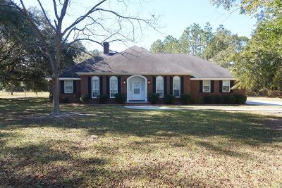 Waycross Single Family Home For Sale: 1905 Dorothy Street