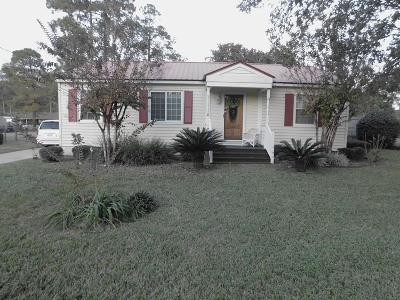 Waycross Single Family Home For Sale: 402 Spurgeon