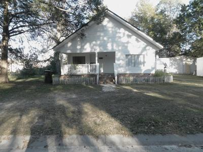 Waycross Single Family Home For Sale: 1548 Azalea Ave.