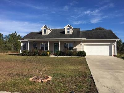 Waycross Single Family Home For Sale: 4584 Maria Circle