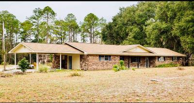 Waycross Single Family Home For Sale: 5790 Central Ave