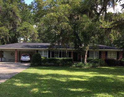 Blackshear Single Family Home For Sale: 118 Pinehurst Dr