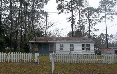 Waycross Single Family Home For Sale: 2411 Oleander Dr.