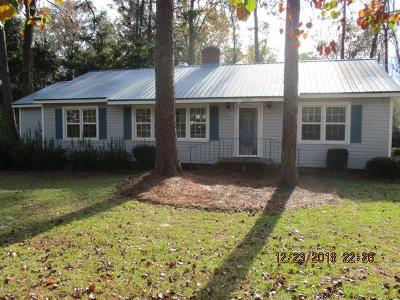 Waycross Single Family Home For Sale: 1202 Euclid Ave