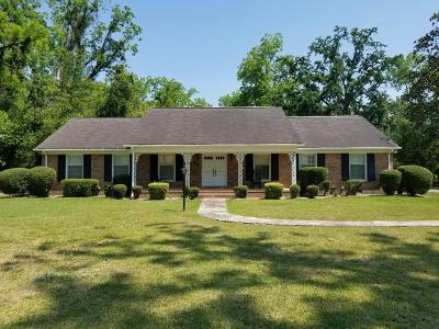 Waycross Single Family Home For Sale: 895 E. Waring St