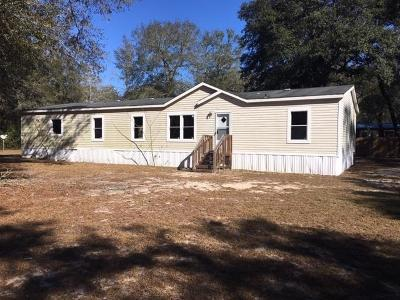 Waycross Single Family Home For Sale: 5700 Oakwood Circle