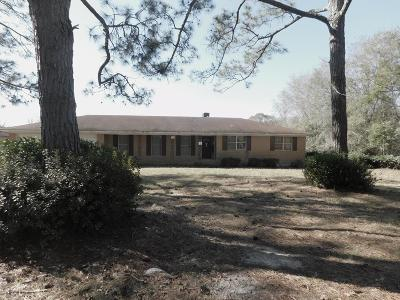 Blackshear Single Family Home For Sale: 4772 Knox Road