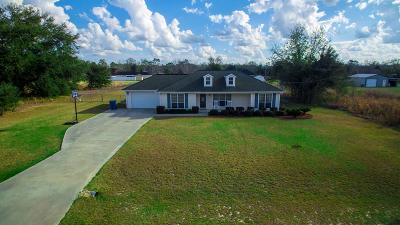 Blackshear Single Family Home For Sale: 4060 Meadow Cir