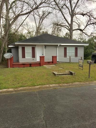 Waycross Single Family Home For Sale: 904 Thomas