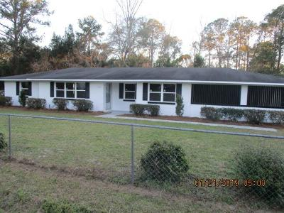 Waycross Single Family Home For Sale: 1108 Golfview Dr.