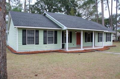 Waycross Single Family Home For Sale: 2610 Longhorn Rd.