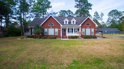 Waycross Single Family Home For Sale: 2249 Belle Cir