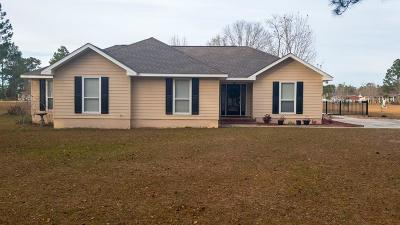 Blackshear Single Family Home For Sale: 2654 Ashlee Ln