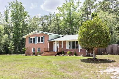 Blackshear Single Family Home For Sale: 1320 Loblolly Ln
