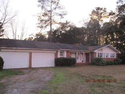 Jesup Single Family Home For Sale: 4250 S. Us Hwy 341