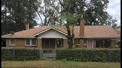 Waycross Single Family Home For Sale: 901 Eads Street