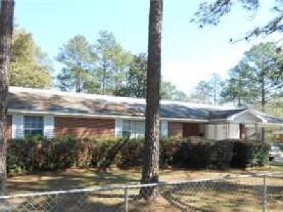 Waycross Single Family Home For Sale: 1301 Morningside Dr