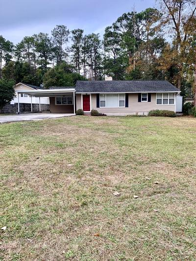 Waycross Single Family Home For Sale: 1105 Euclid Avenue