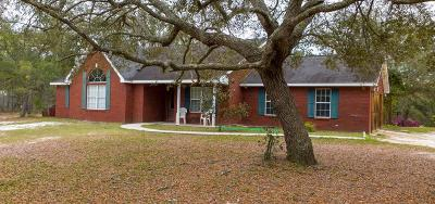 Blackshear Single Family Home For Sale: 5912 Yellow Bluff Rd