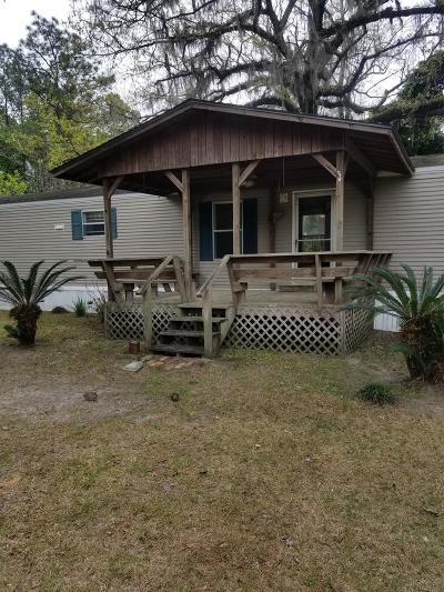 Waycross Single Family Home For Sale: 3885 Owl Ln