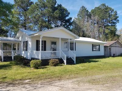 Homerville Single Family Home For Sale: 232 Pace Street