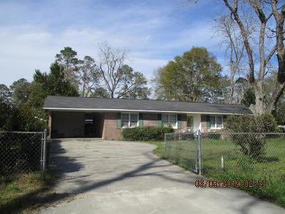 Waycross Single Family Home For Sale: 600 Linwood Dr