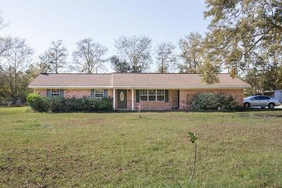 Patterson GA Single Family Home For Sale: $139,000