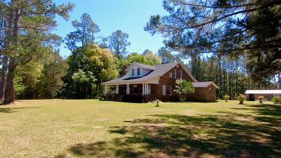 Blackshear Single Family Home For Sale: 2793 Cason Road