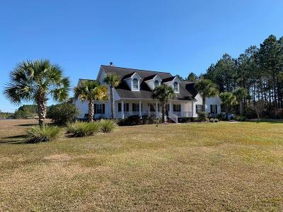 Blackshear Single Family Home For Sale: 5310 Hacklebarney Rd.