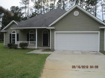 Jesup Single Family Home For Sale: 228 Bennett Circle