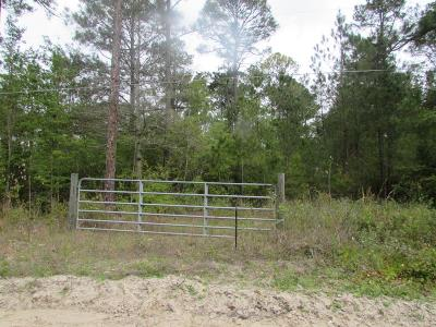 Waycross Residential Lots & Land For Sale: Millers Rd