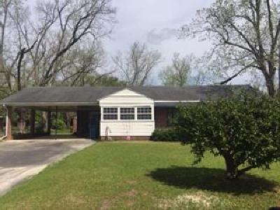Waycross Single Family Home For Sale: 107 Hebard Ave