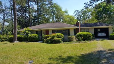 Waycross Single Family Home For Sale: 527 Kenwood Dr