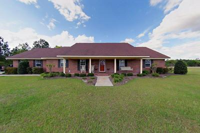 Blackshear Single Family Home For Sale: 2180 Golf Course Road