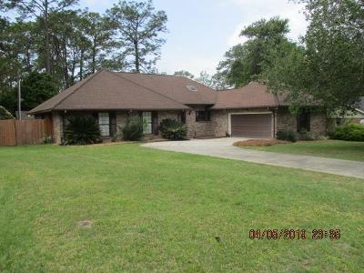 Waycross Single Family Home For Sale: 1611 Moss Creek Rd